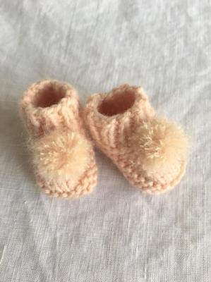 Chaussons pompons 2 copie