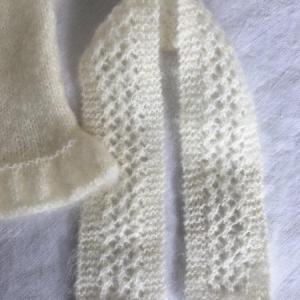 Gilet sans manche blanc casse t2 6