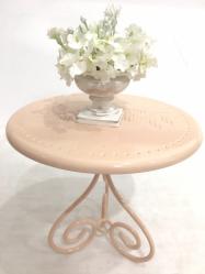 Table poudre vase 1